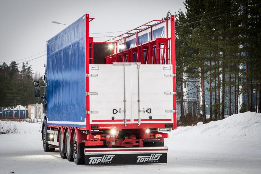 Toplift – kuljetuskalustoa elementtikuljetukseen