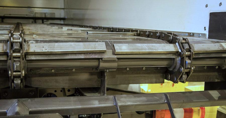 Toplift - Ketjupurkuvaunun toteutus omamassaa ja tilavuutta optimoiden