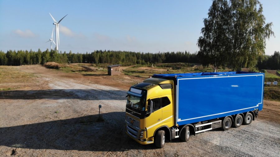Toplift - biotuotteiden ja kierrätysmateriaalin kuljetuskalusto