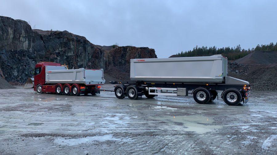 Toplif - soran ja maa-aineksen kuljetuskalusto